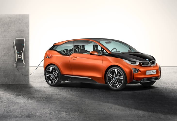 The BMW i3 comes with extended range options