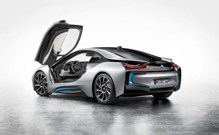 BMW i8 ahead of public release