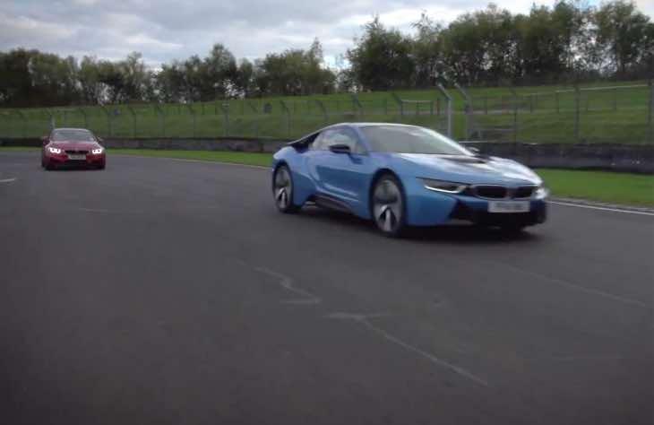 BMW i8 Vs M4