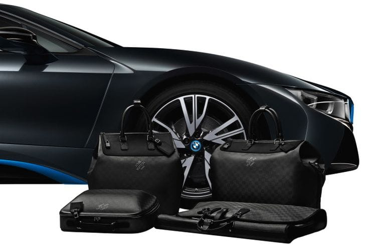 BMW i8 gains exclusive Louis Vuitton luggage 2