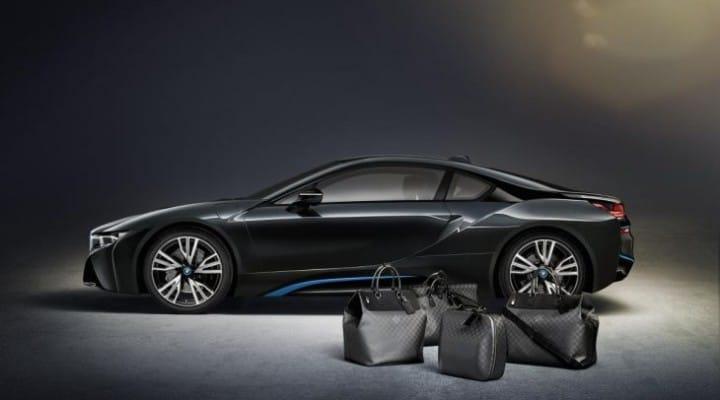 BMW i8 gains exclusive Louis Vuitton luggage