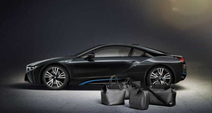 BMW i8 gains exclusive Louis Vuitton luggage