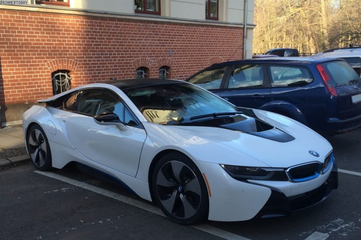BMW i8 in 2014