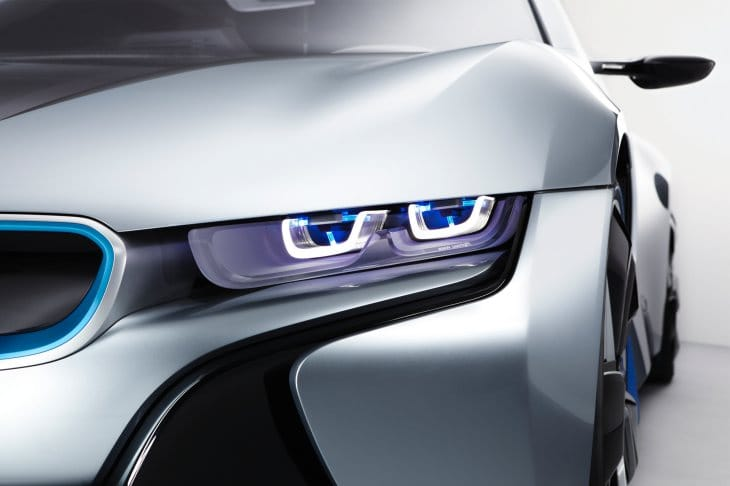 BMW i8 laserlight