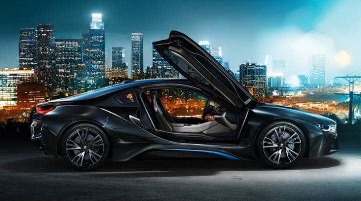 BMW i8 options list, UK not US