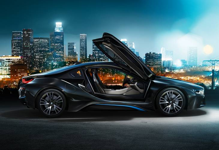 BMW i8 options list, UK not US