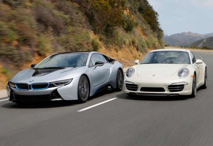 BMW i8 vs. Porsche 911 - Intriguing sports car challenge