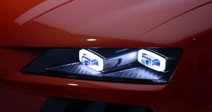 BMW vs. Audi on laserlight