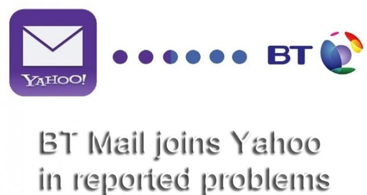 Bt yahoo mail login screen