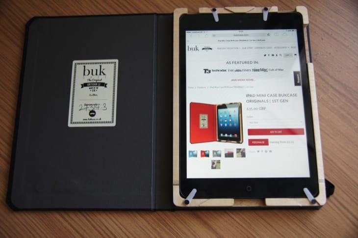 BUKcase Originals review for iPad mini underlines uniqueness 5