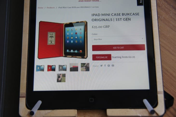 BUKcase Originals review for iPad mini underlines uniqueness 6