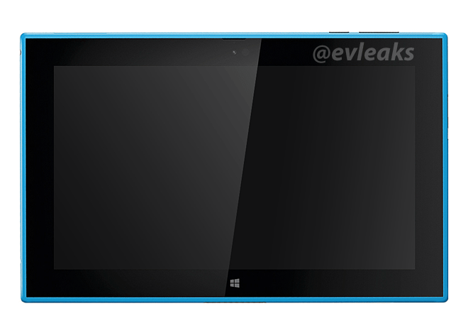 Nokia Lumia 2520 tablet in cyan and red leaked on Twitter