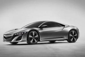 Baby Honda NSX development