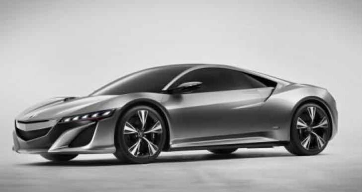 Baby Honda NSX development as of June 2015