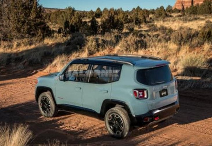 Baby Jeep Renegade leaked images surface