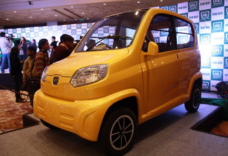 Bajaj RE60 car setback over weight