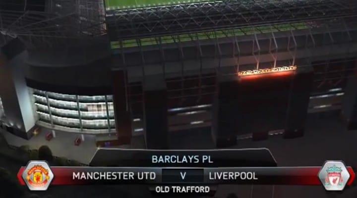 Bale scores first in new LFC vs Man U FIFA 14 gameplay