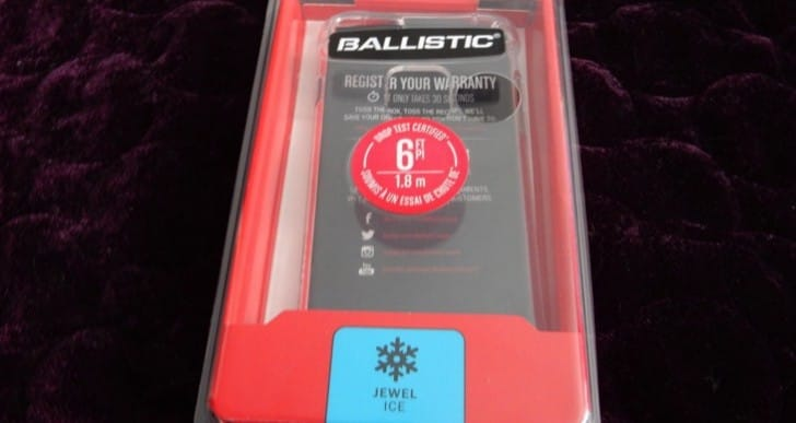 Ballistic iPhone 7 Jewel Ice Series case review for increased protection