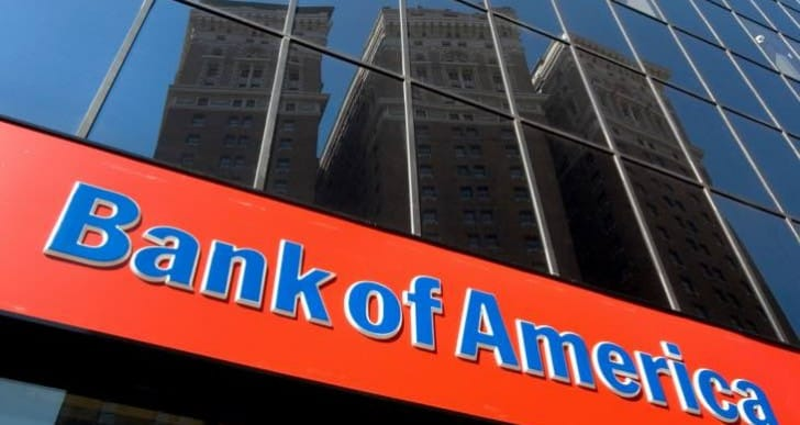Bank of America login down across US