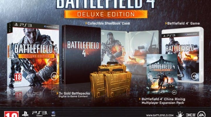 Battlefield 4 Deluxe vs. Standard Edition in UK