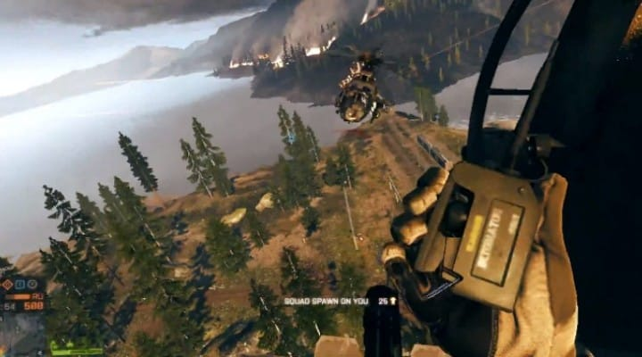 Battlefield 4 kills with helicopters and C4