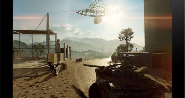 Battlefield 4 running on iPad Air, but no download
