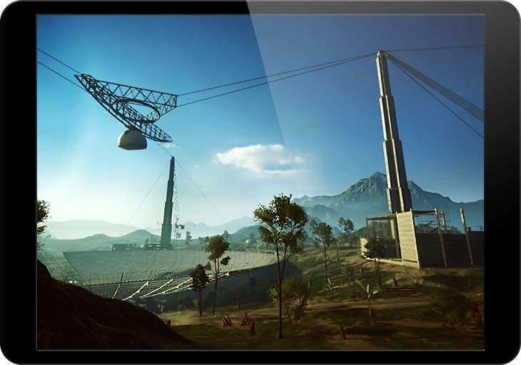 Battlefield 4 running on iPad Air