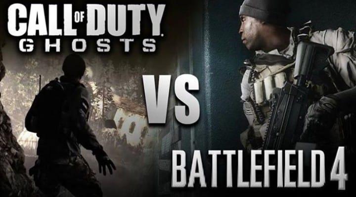 Battlefield 4 vs. COD: Ghosts deliberation endures