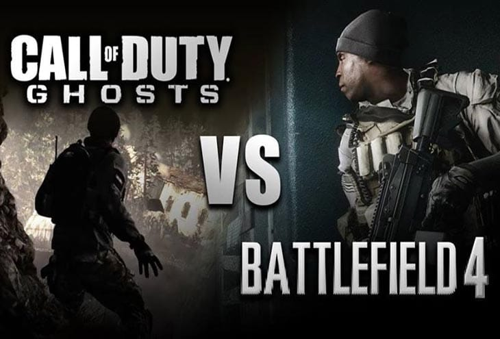 Battlefield 4 vs. COD: Ghosts deliberation endures