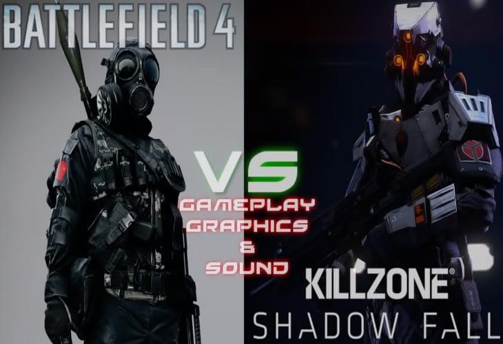 Killzone: Shadow Fall vs. Battlefield 4 PS4 graphics ...  Killzone 4 Review