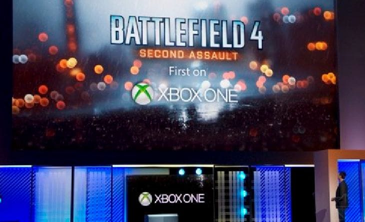 Battlefield 4 on Xbox One with Kinect 2.0 features