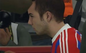 Bayern's Mario Gotze in PES 2015 launch trailer
