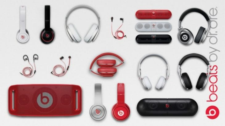 Beats Electronics designed by Jony Ive