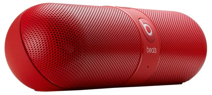 Beats by Dr. Dre Pill Wireless Speaker in red