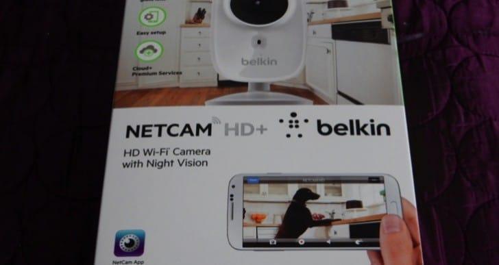 Belkin NetCam HD Wi-Fi Night Vision Camera review – security on a budget