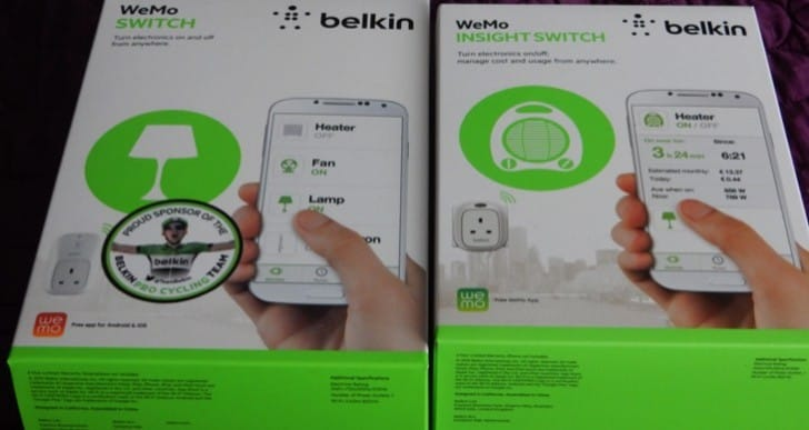 Belkin WeMo Switch and Insight Switch review, easy home automation