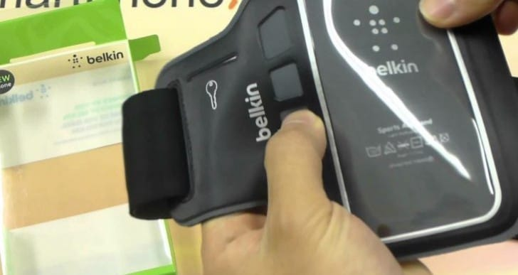 Belkin iPhone 6 Armband Slim-Fit Plus for running