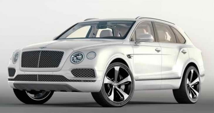Bentley Bentayga First Edition bespoke equipment and options