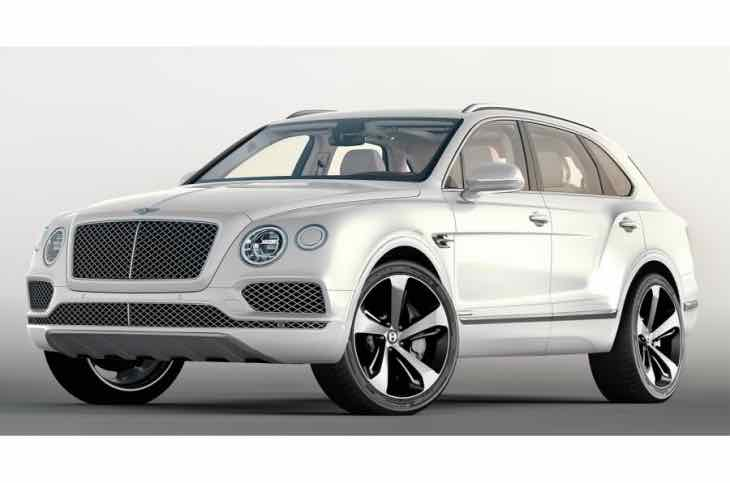 Bentley Bentayga First Edition bespoke equipment