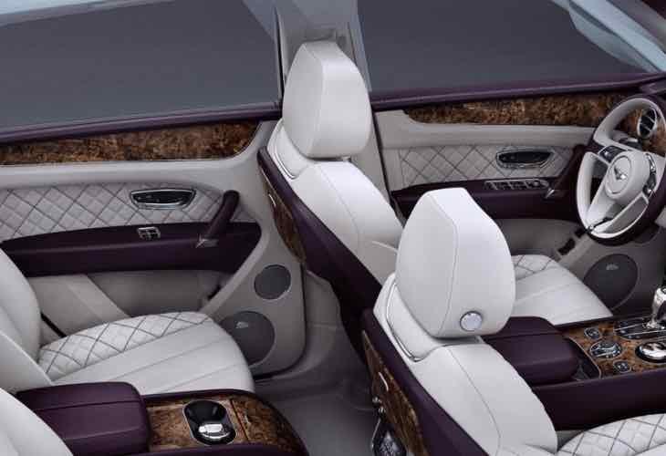 Bentley Bentayga First Edition bespoke options