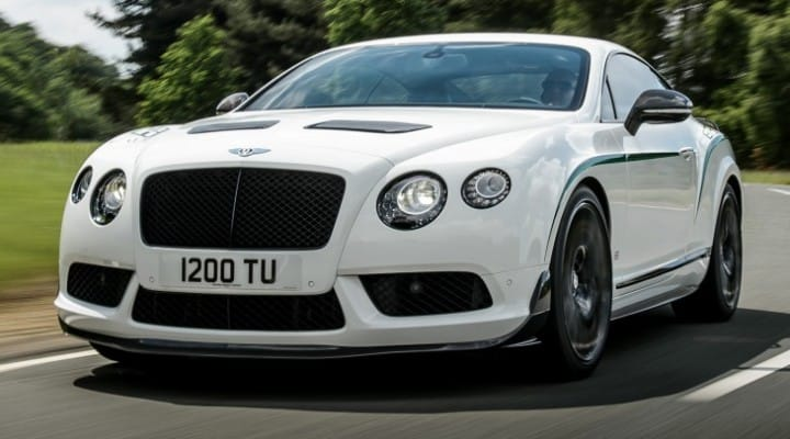 Bentley Continental GT3-R specs exposed, not price