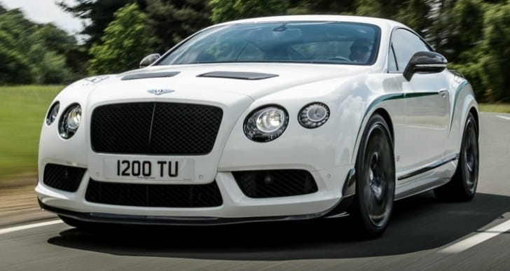 Bentley Continental GT3-R specs exposed, not price