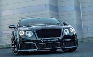 Onyx Bentley GTVX concept car