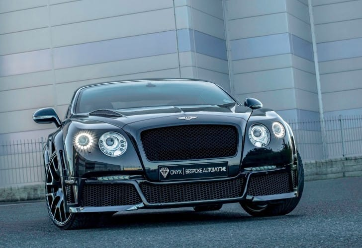 Onyx Bentley GTVX concept car