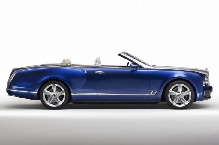 Bentley Grand Convertible LA Auto Show concept