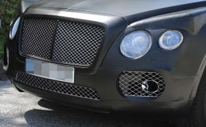 Bentley SUV changes from development to production