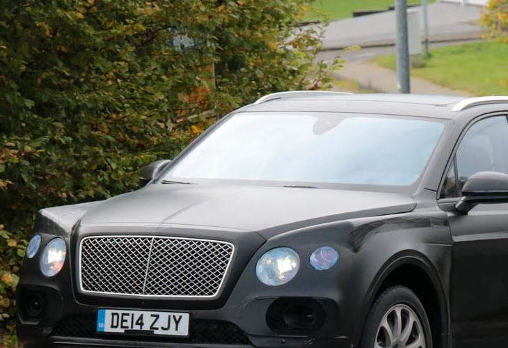 Bentley SUV like Chinese knock-off