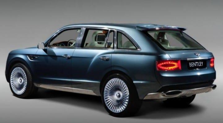 Bentley SUV like VW Touareg or Chinese knock-off