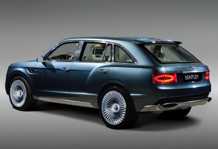 Bentley SUV like VW Touareg or Chinese knock-off