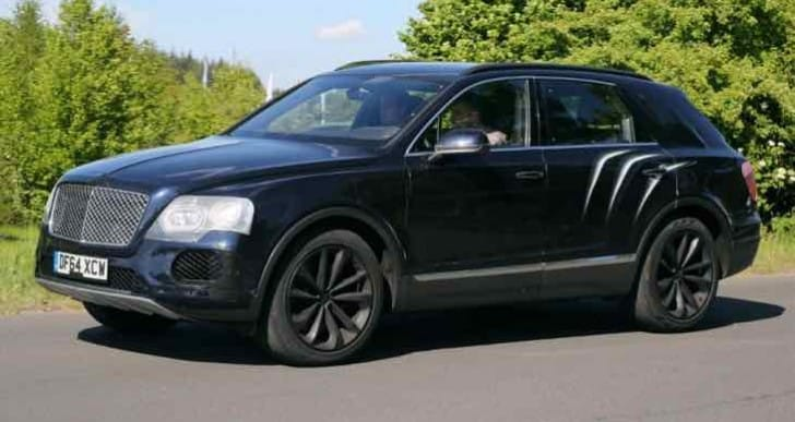 Bentley reveals possible Bentayga SUV price